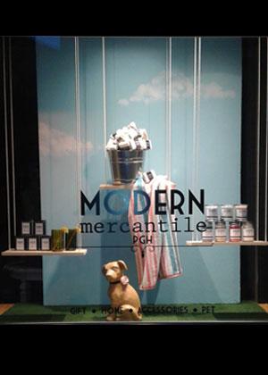 Modern Mercantile PGH June Window 2018