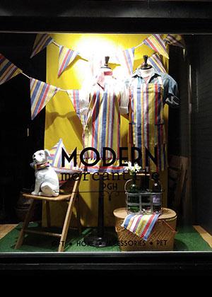 Modern Mercantile PGH Shop Window